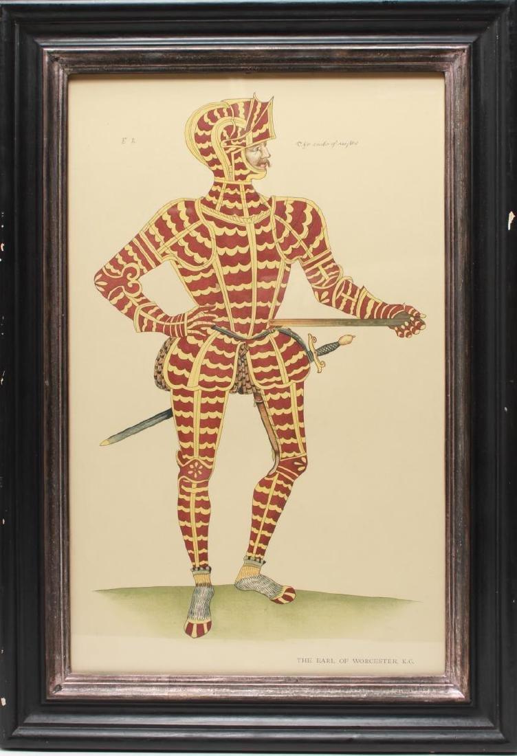 Tudor Military Suits of Armor Prints, 1905 - Pair - 8