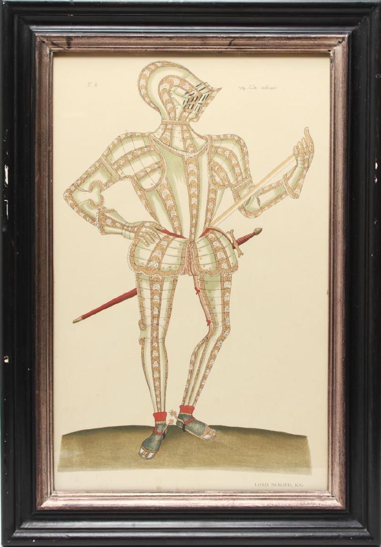 Tudor Military Suits of Armor Prints, 1905 - Pair - 2