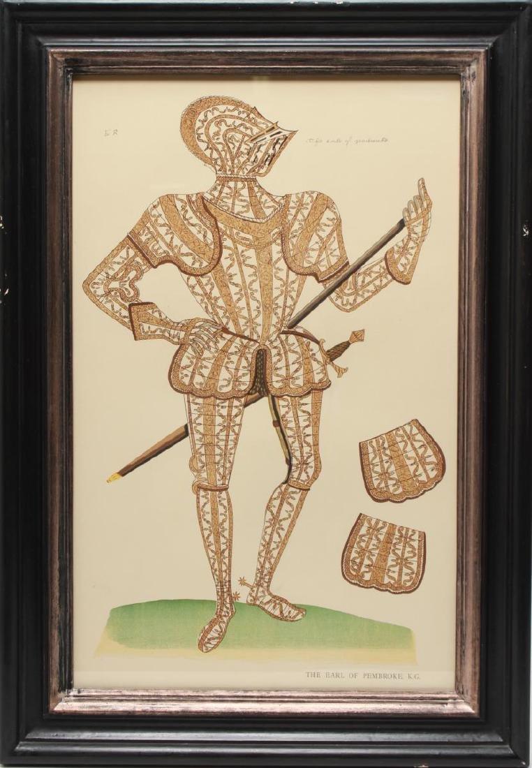 Tudor Military Suits of Armor Prints, 1905 - Pair - 5
