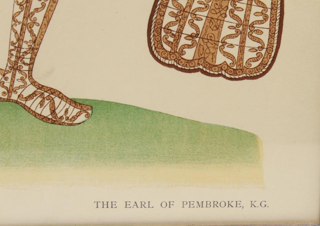 Tudor Military Suits of Armor Prints, 1905 - Pair - 6