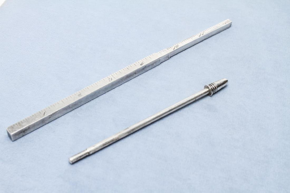 Tiffany & Co Sterling Silver Telescoping Ruler Pen - 4