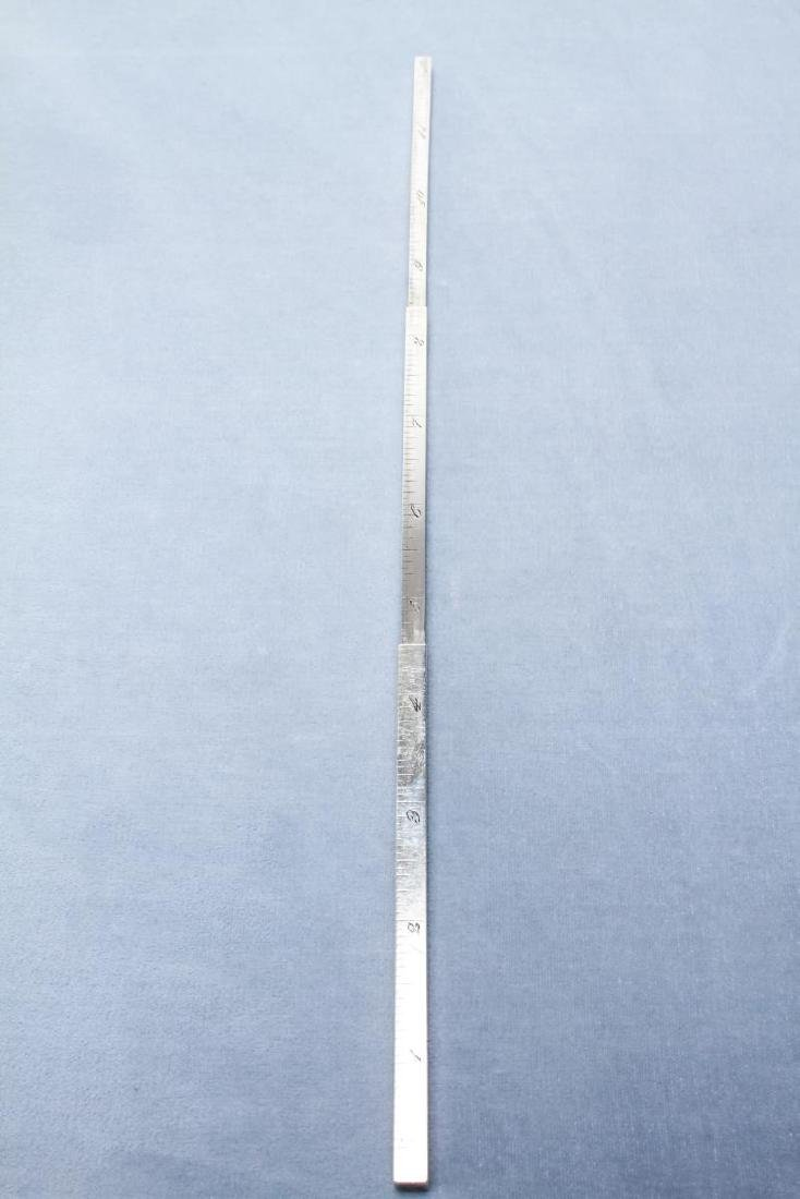 Tiffany & Co Sterling Silver Telescoping Ruler Pen - 5