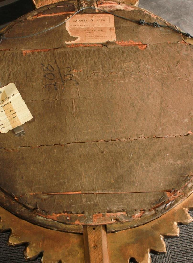Irish Regency Giltwood Mirror, Hippocanthus,19th C - 5