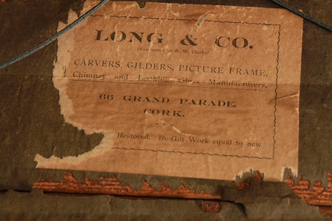 Irish Regency Giltwood Mirror, Hippocanthus,19th C - 6