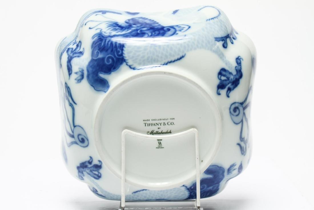 Tiffany & Co Mottahedeh Blue Dragon Porcelain Bowl - 2
