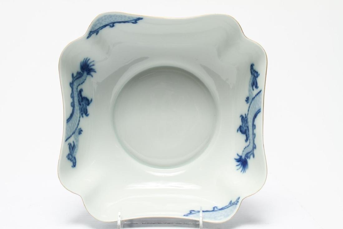 Tiffany & Co Mottahedeh Blue Dragon Porcelain Bowl - 3