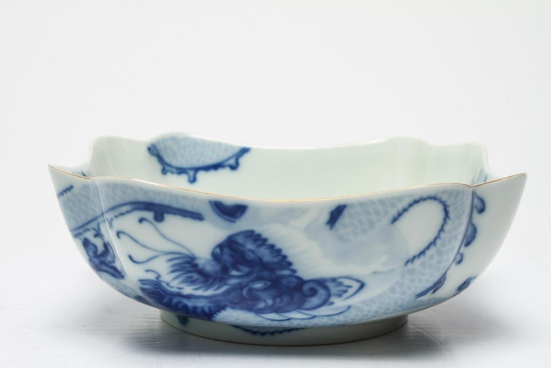 Tiffany & Co Mottahedeh Blue Dragon Porcelain Bowl - 5