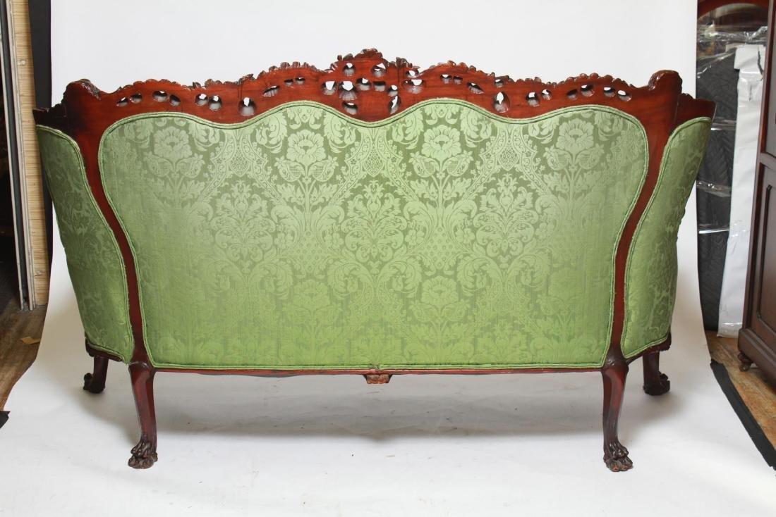 RJ Horner / Karpen Victorian Mahogany Parlor Sofa - 4