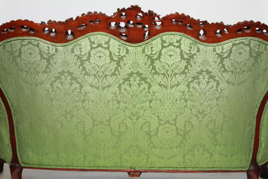 RJ Horner / Karpen Victorian Mahogany Parlor Sofa - 5
