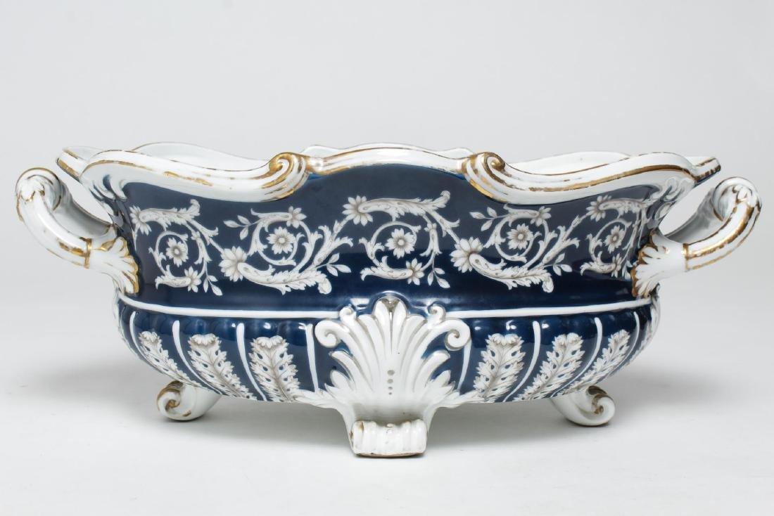 Italian Porcelain Gilt and Enamel Serving Dish - 4
