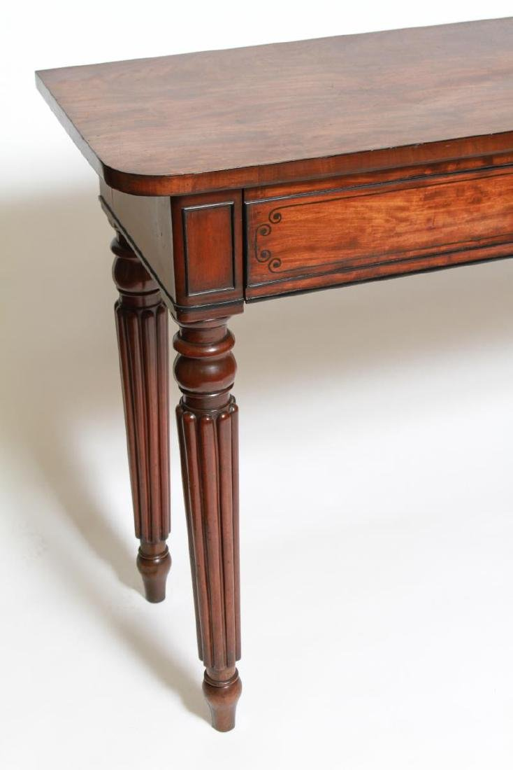 English Regency -Manner Wood Console Table - 2
