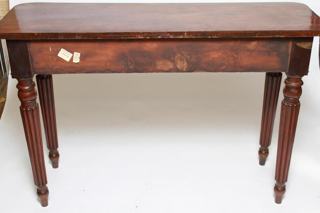 English Regency -Manner Wood Console Table - 7