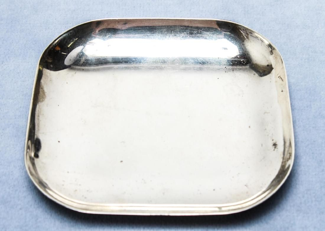 Cartier Sterling Silver Square Trinket Tray