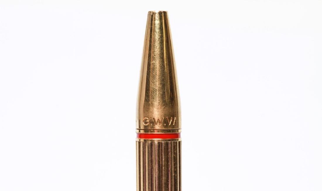 """Hermes 18K Gold """"Porte Mine"""" Automatic Pencil - 2"""