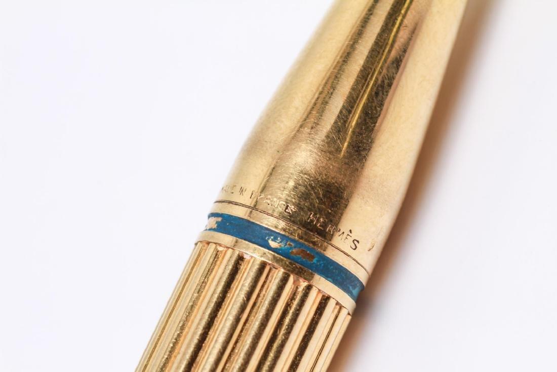 """Hermes 18K Gold """"Porte Mine"""" Automatic Pencil - 4"""