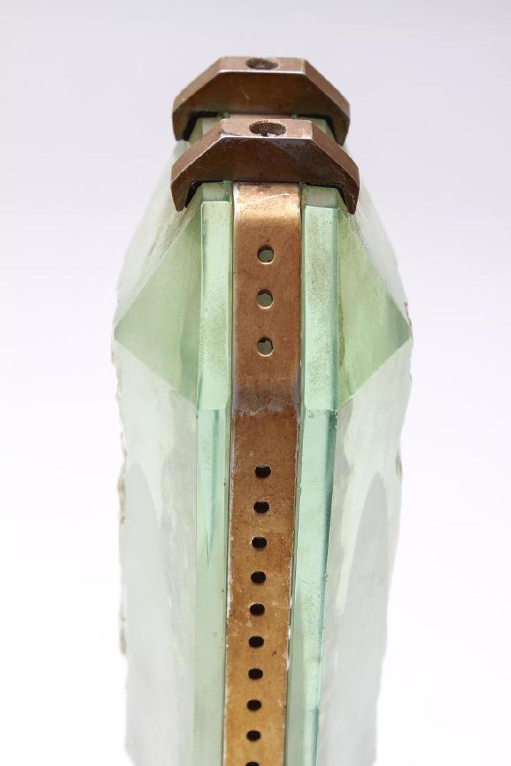 Art Deco French Glass Ocean Liner Table Lamp - 8