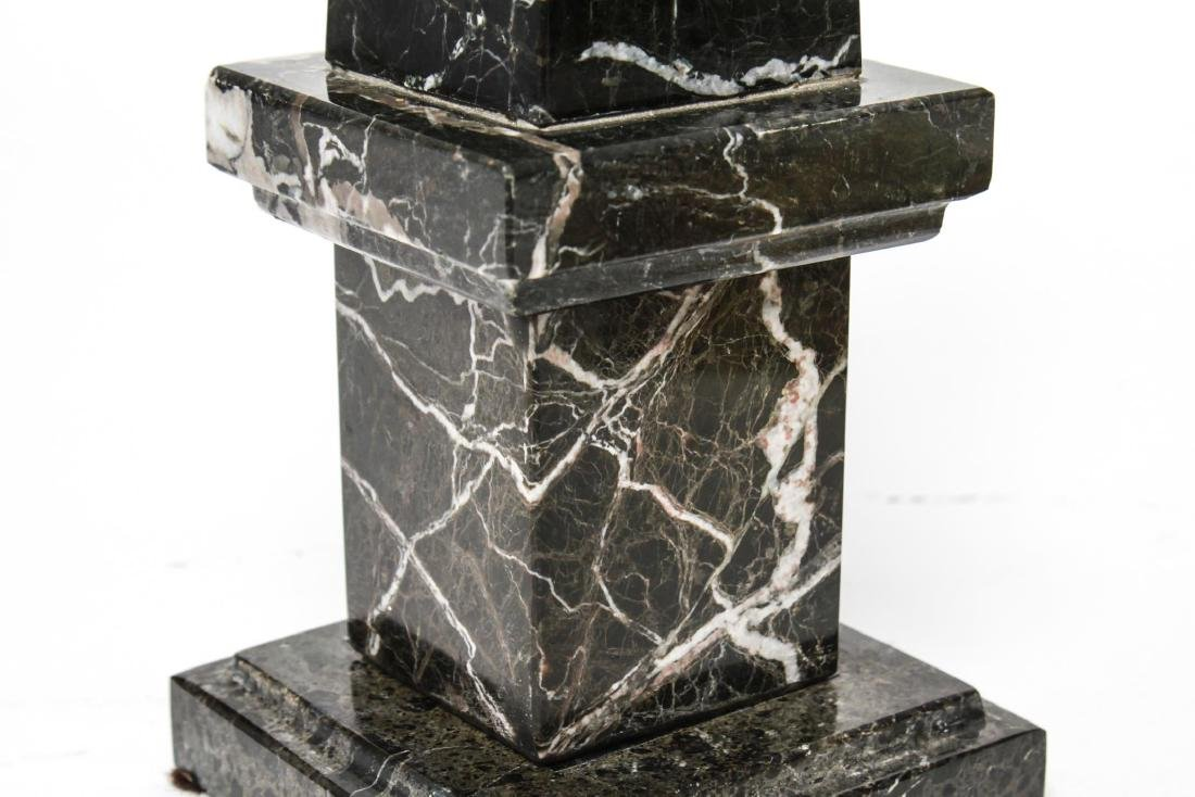 Agate & Marble Tabletop Obelisks, Group of 2 - 8