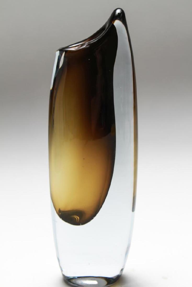 "Mid-Century Stromberg Nylund ""Shark Tooth"" Vase"