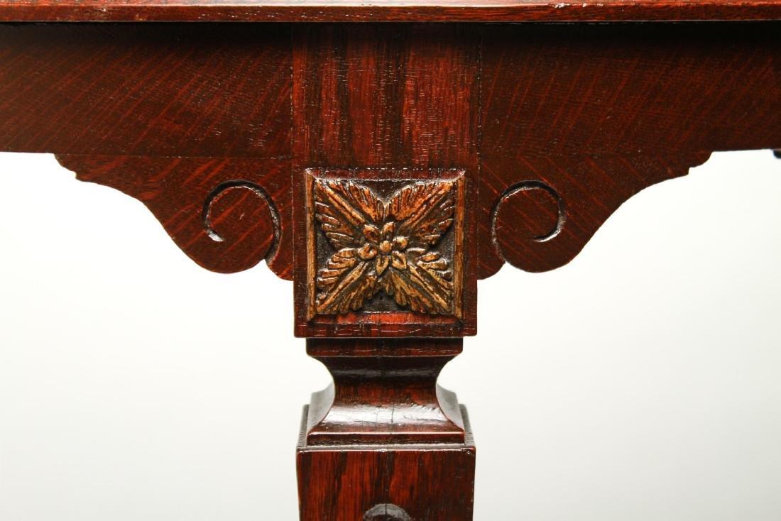 19th Century Demilune Console Tables, Pair - 3