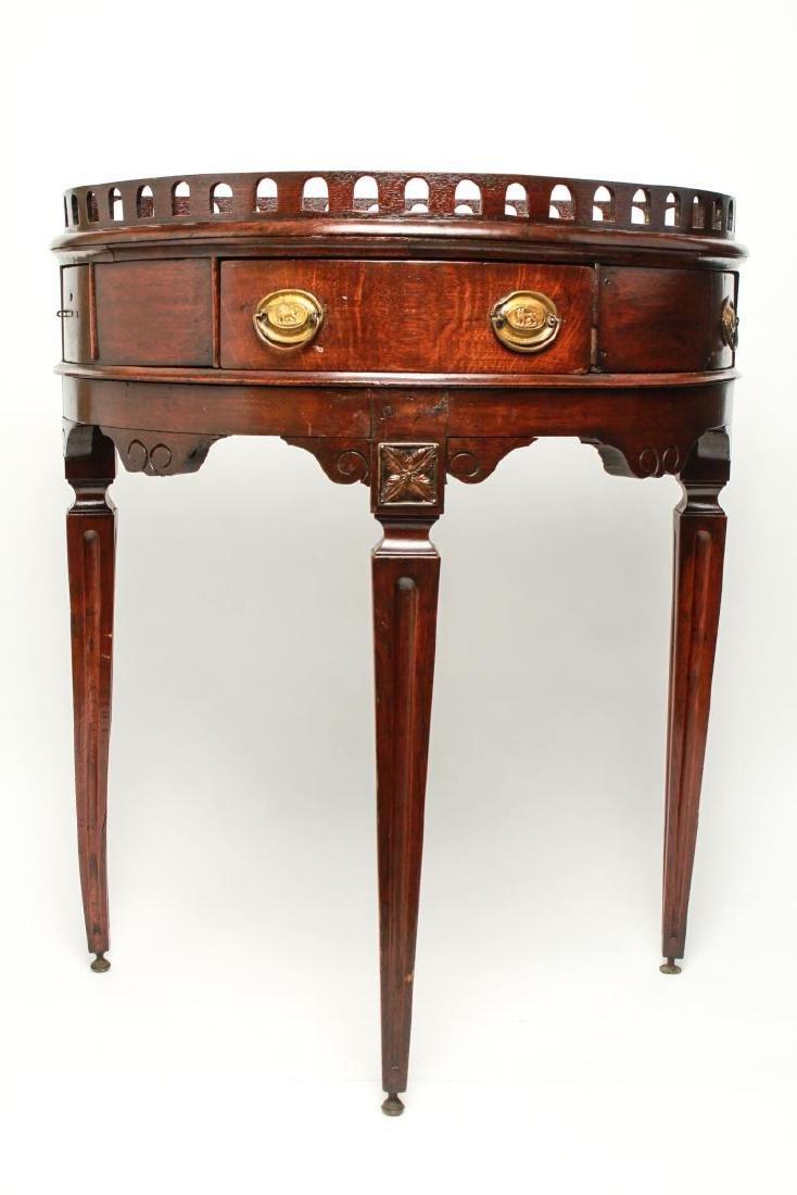 19th Century Demilune Console Tables, Pair - 4
