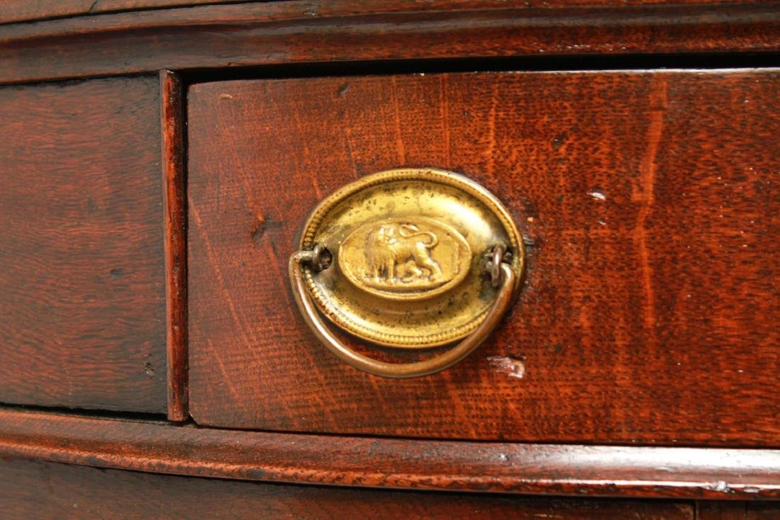 19th Century Demilune Console Tables, Pair - 5