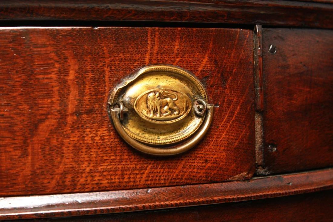 19th Century Demilune Console Tables, Pair - 6