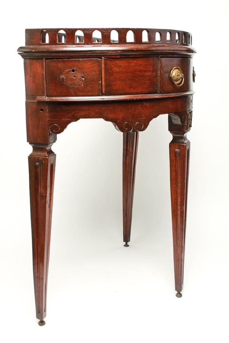 19th Century Demilune Console Tables, Pair - 7