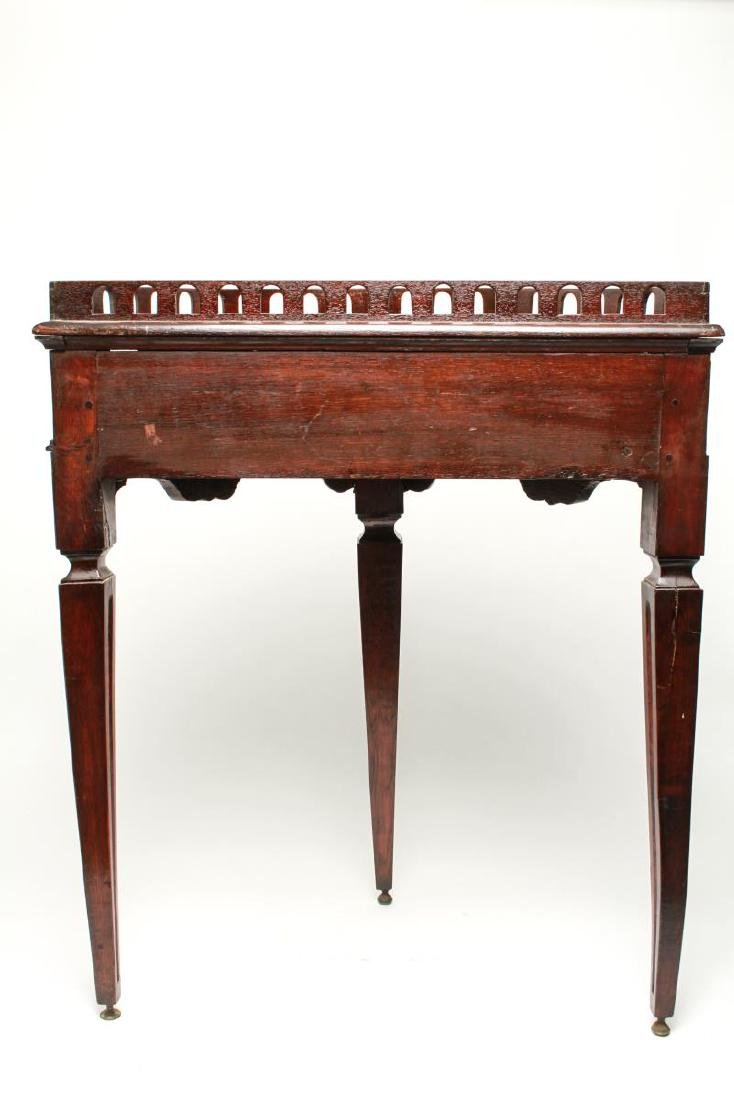 19th Century Demilune Console Tables, Pair - 8
