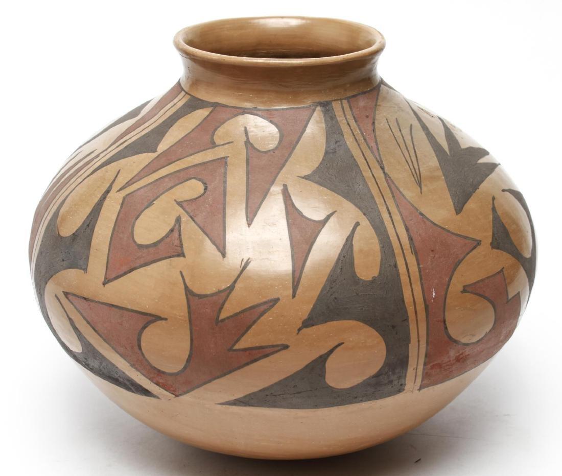 Casas Grandes Mato Ortiz Coiled Pottery Olla - 2