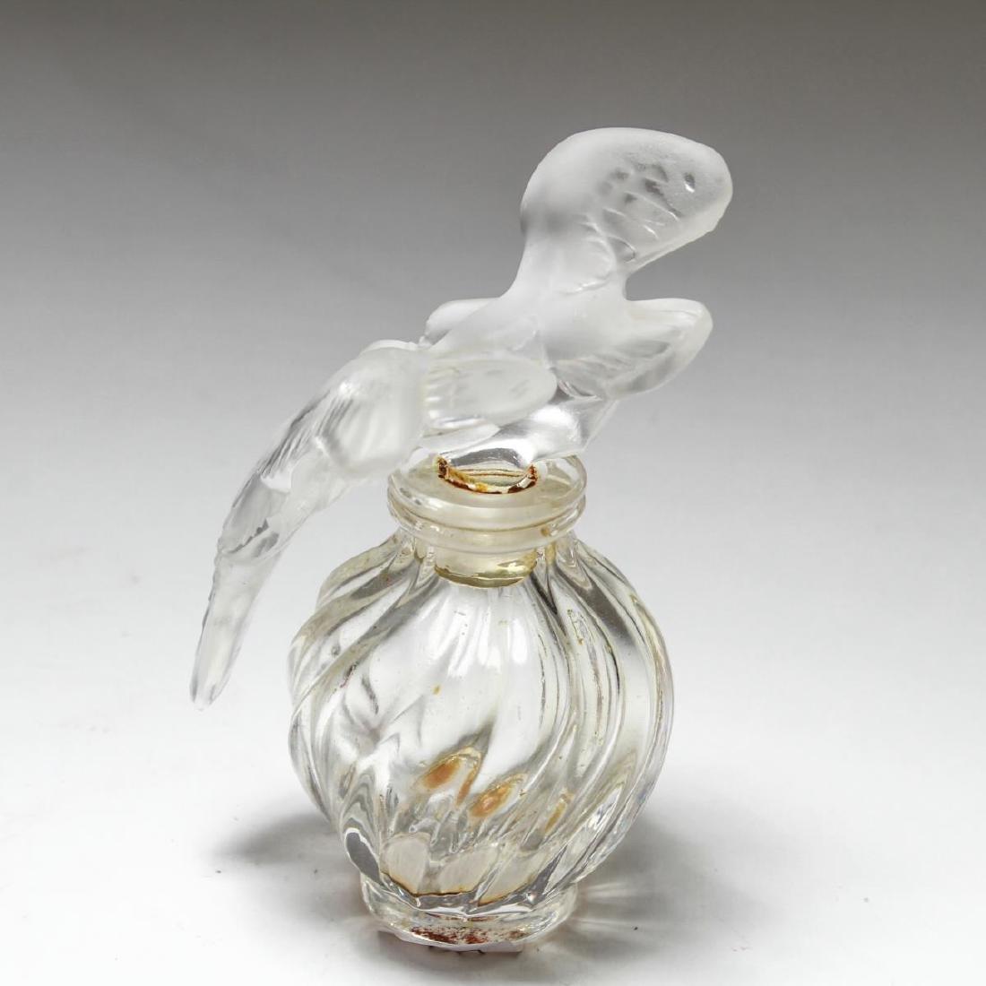 """Lalique Crystal """"L'Air Du Temps"""" Perfume Bottle - 3"""