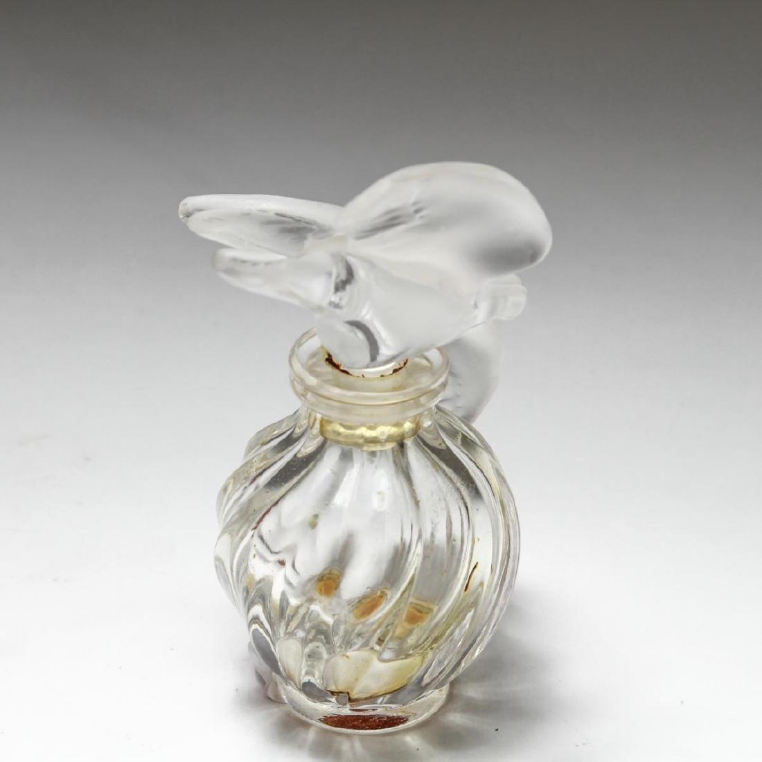"""Lalique Crystal """"L'Air Du Temps"""" Perfume Bottle - 4"""