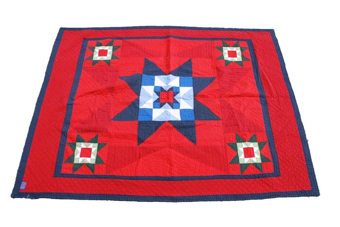 """Pendleton """"Sioux Star"""" Vintage Cotton Quilt"""