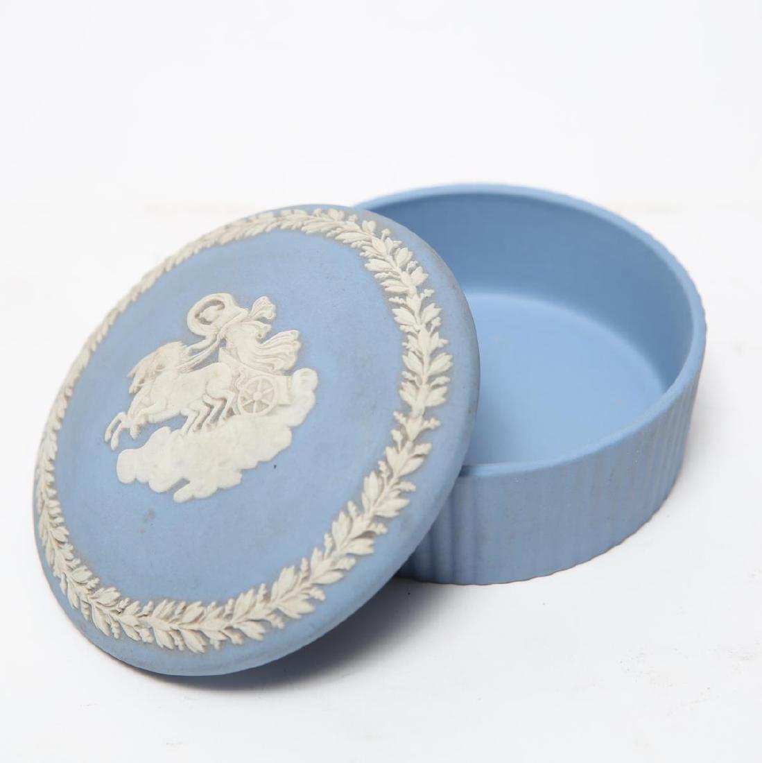 Wedgwood Green / Blue & White Jasperware Boxes, 5 - 5