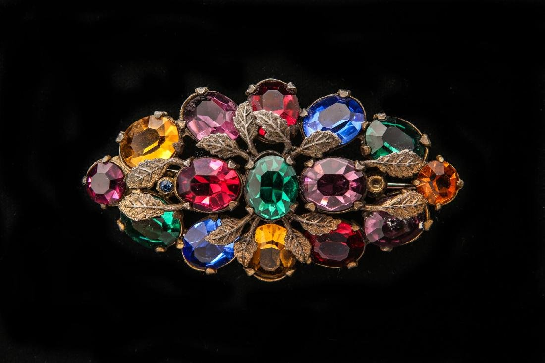 Costume Jewelry Pins / Lady's Brooches Group of 10 - 9