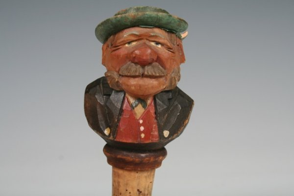 9: Vintage German Gentleman Wine Cork c1920