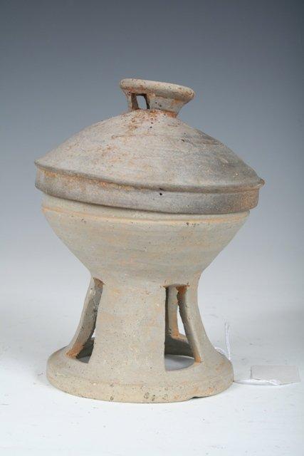 14: 5th-6th C Silla Dynasty Korean Footed Bowl & Cup