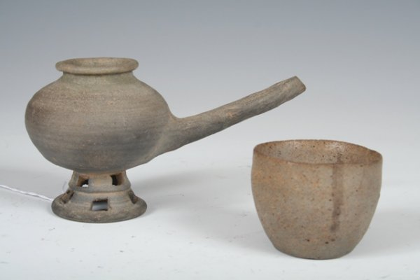 15: Korean Silla Dynasty Ceramic Teapot