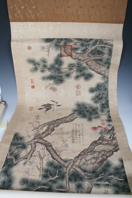 416: Chinese Scroll Painting