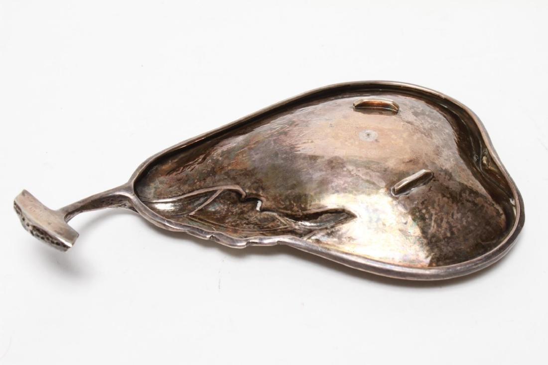 Buccellati Sterling Silver Pear Dish Trinket Tray - 3