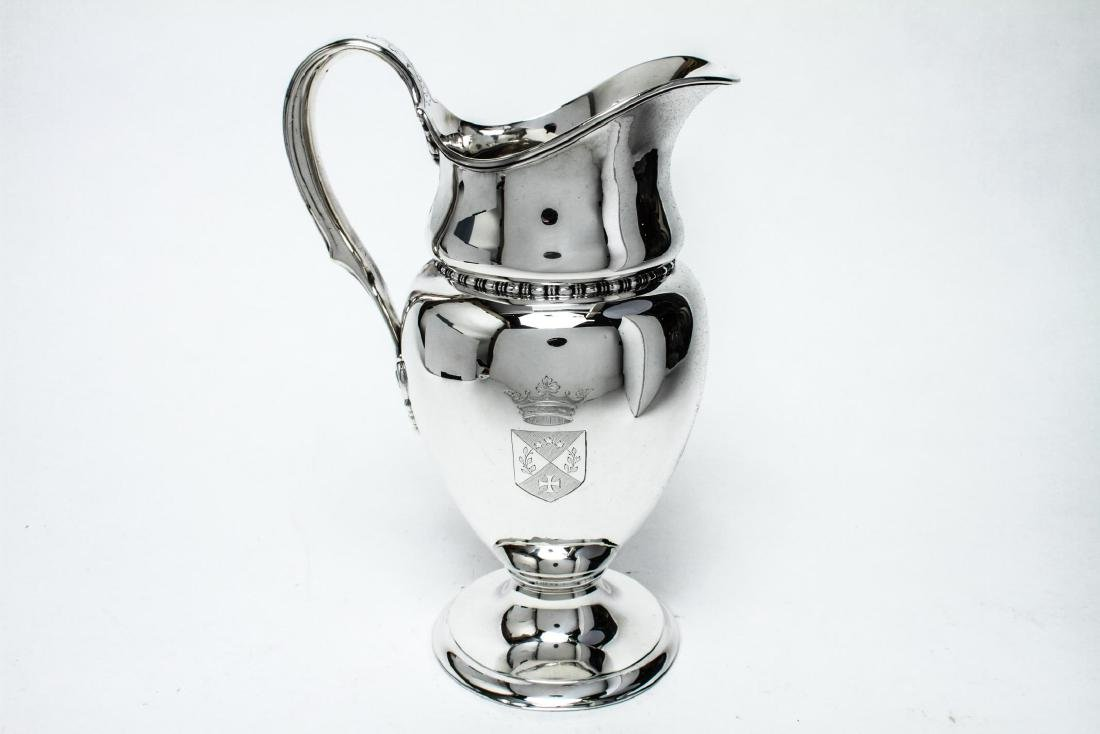Tiffany & Co Sterling Silver Water Pitcher 19th C.