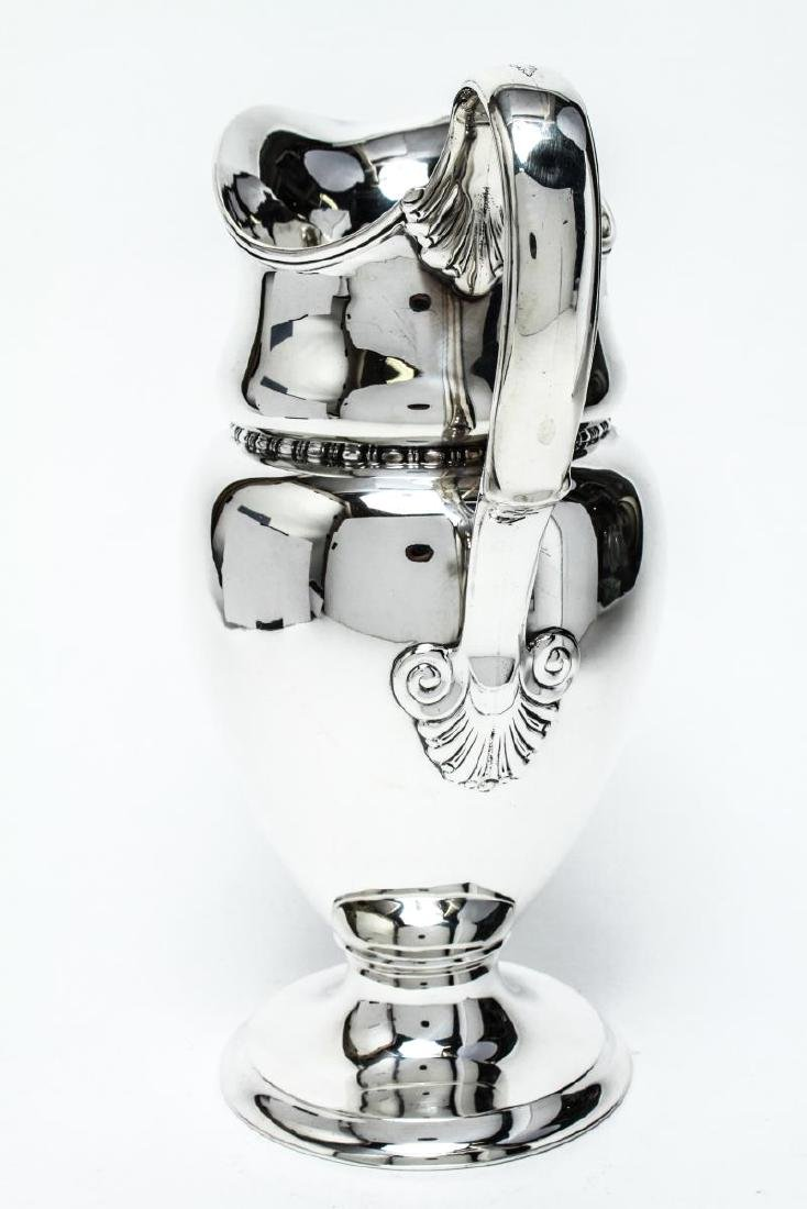 Tiffany & Co Sterling Silver Water Pitcher 19th C. - 4