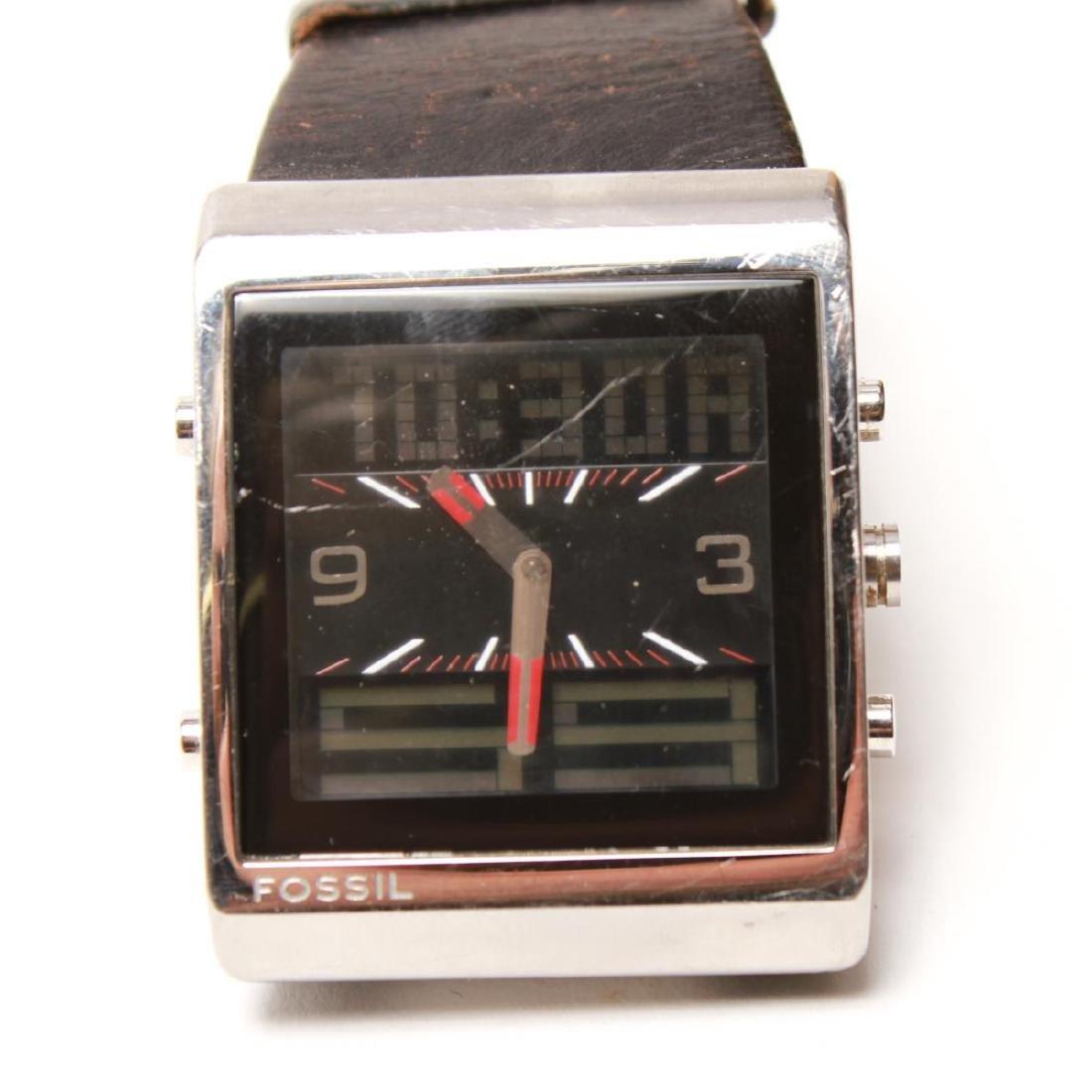 Fossil FUEL Man's Swiss Analog Digital Wristwatch - 2