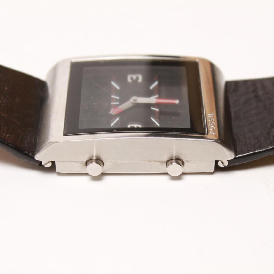 Fossil FUEL Man's Swiss Analog Digital Wristwatch - 4