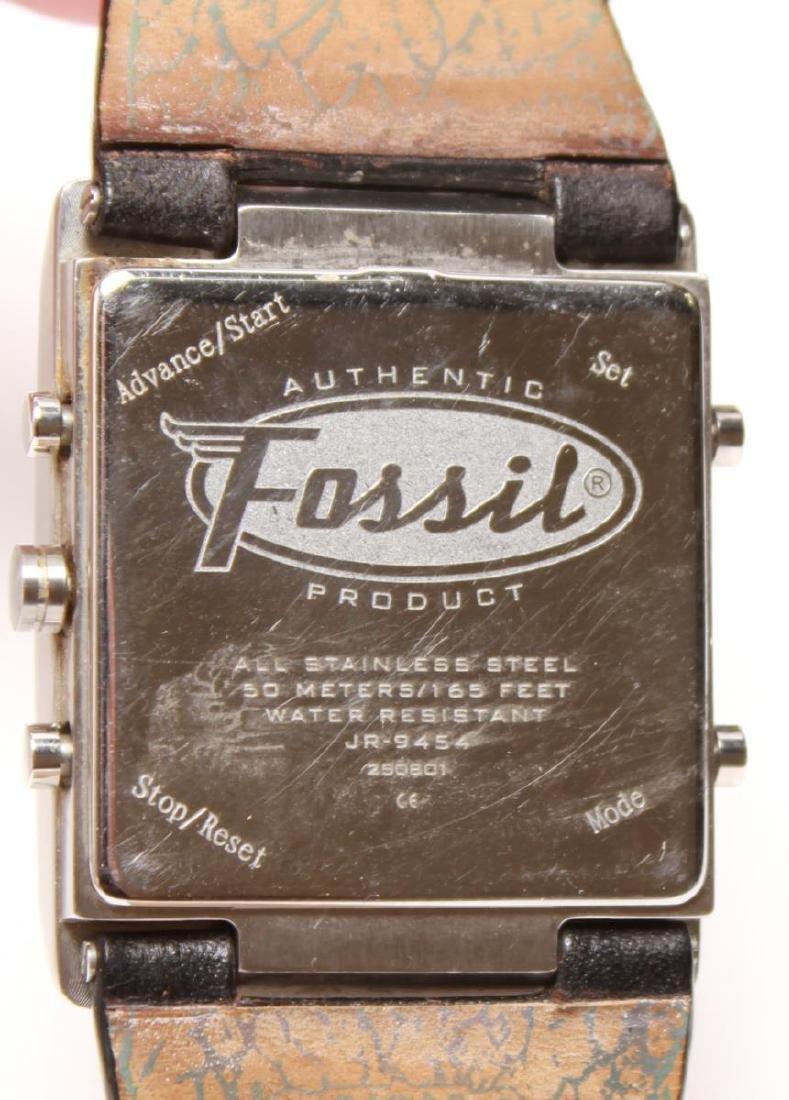 Fossil FUEL Man's Swiss Analog Digital Wristwatch - 5