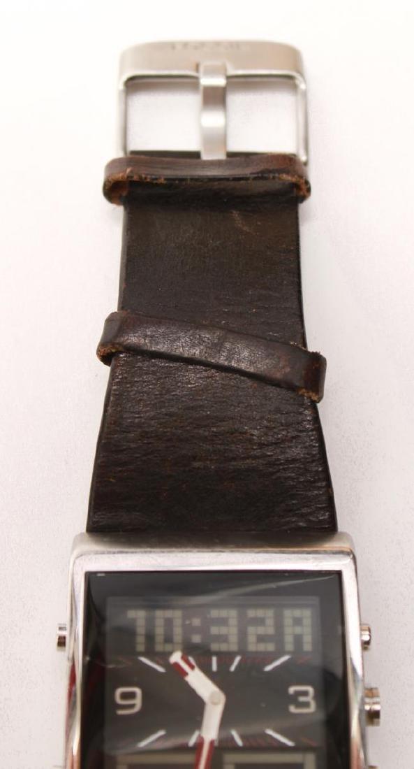 Fossil FUEL Man's Swiss Analog Digital Wristwatch - 8
