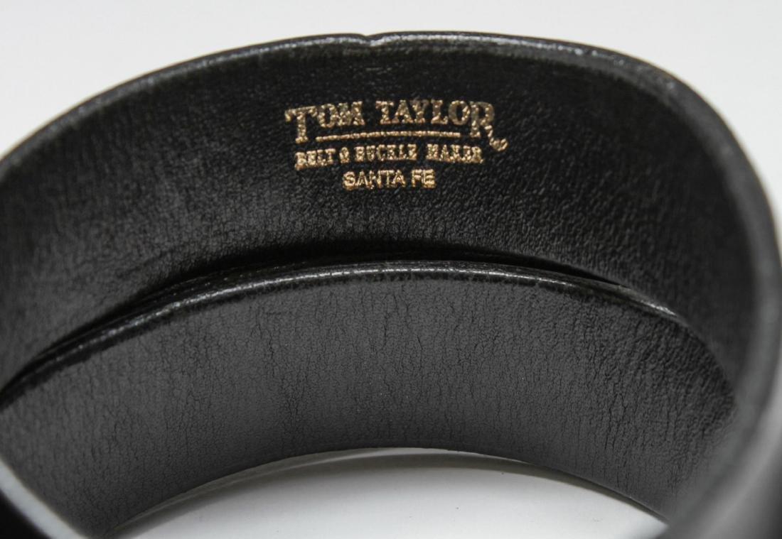 """""""Santa Fe"""" Sterling Silver Belt Buckle 4 Piece Set - 2"""