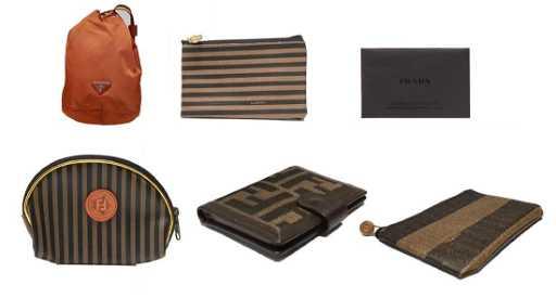 c0054e7660c Prada & Fendi Makeup Coin Purses & Card Wallet, 6