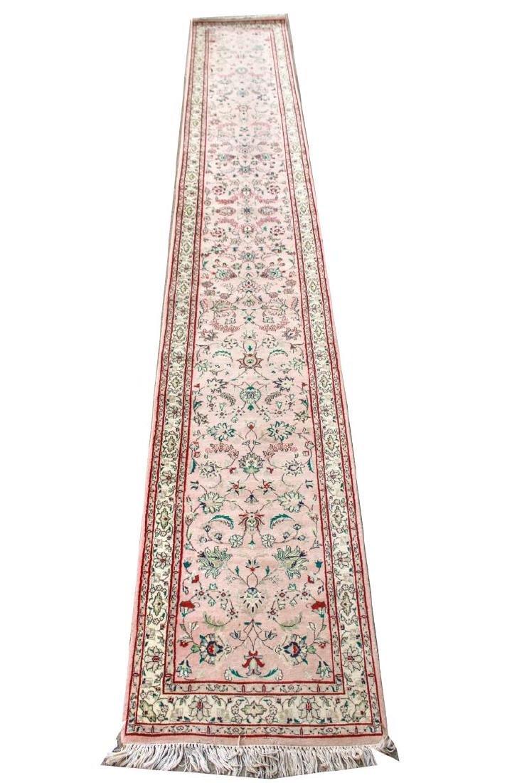 """Persian Carpet Runner 2' 5"""" x 17' 8"""""""