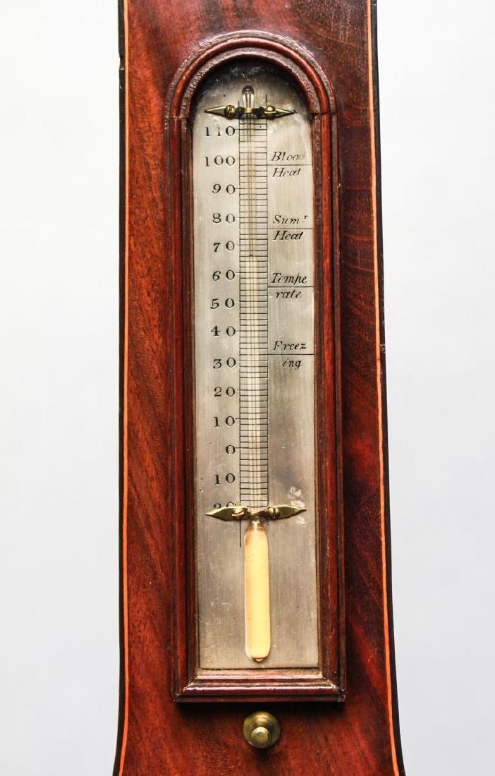 English Wheel Barometer, P. Balarini York, 19th C. - 10