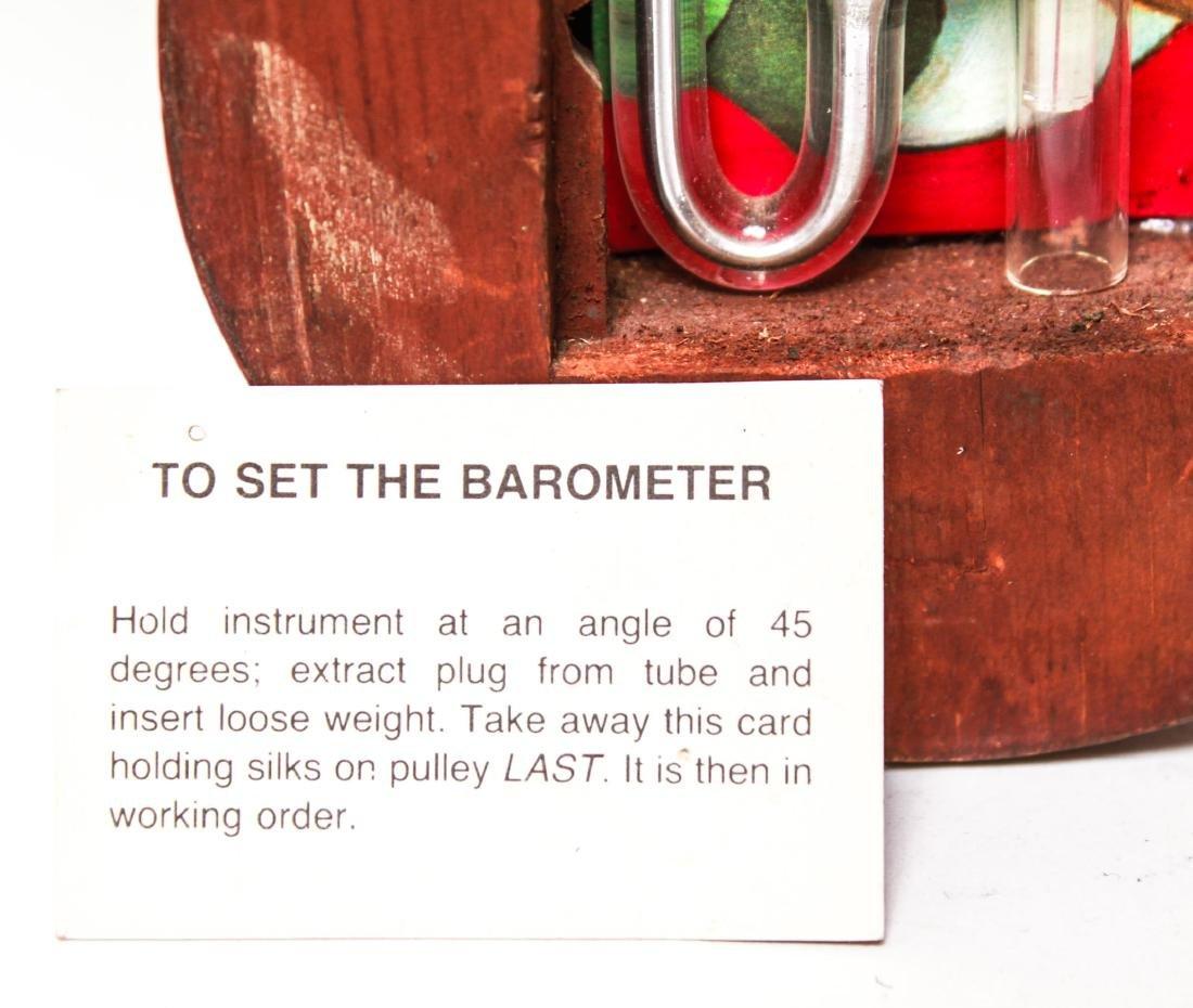 English Wheel Barometer, P. Balarini York, 19th C. - 4